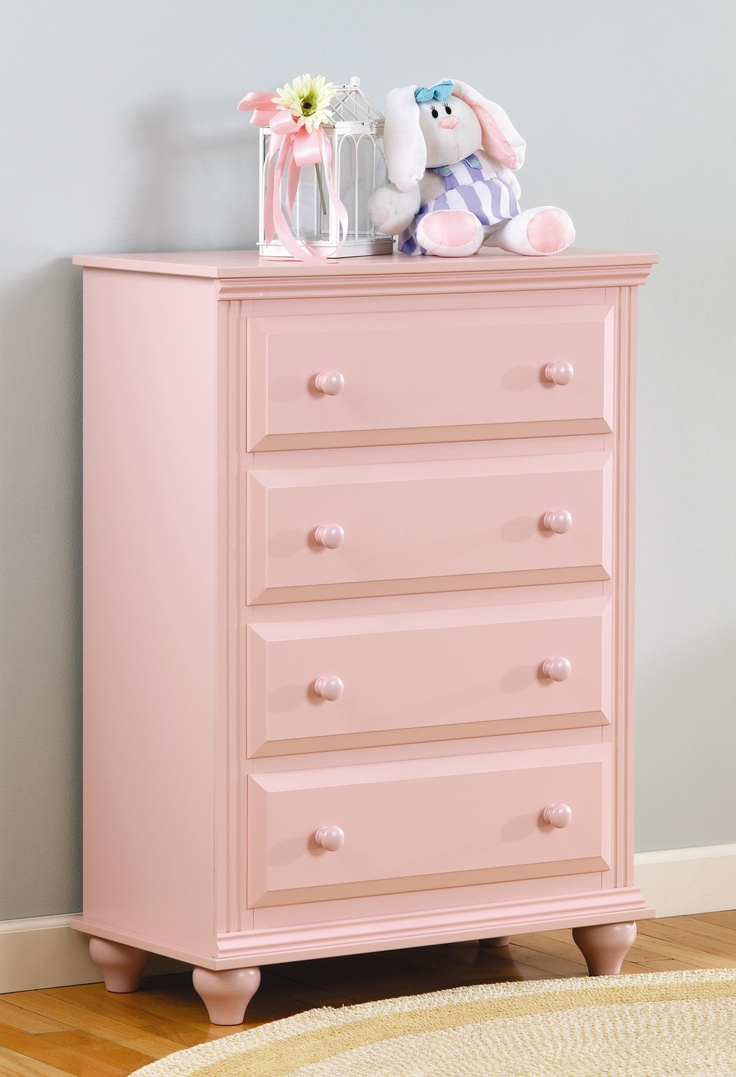 Best Madison 4 Drawer Chest With Roller Glides In Blush Pink By 640 x 480