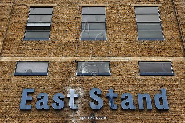 LONDON, ENGLAND - JANUARY 24: A general view of Tottenham Hotspur football club's White Hart Lane stadium in north London on January 24, 2011 in London, England