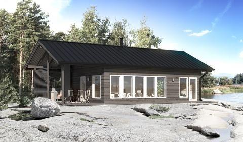 wooden house wm 60