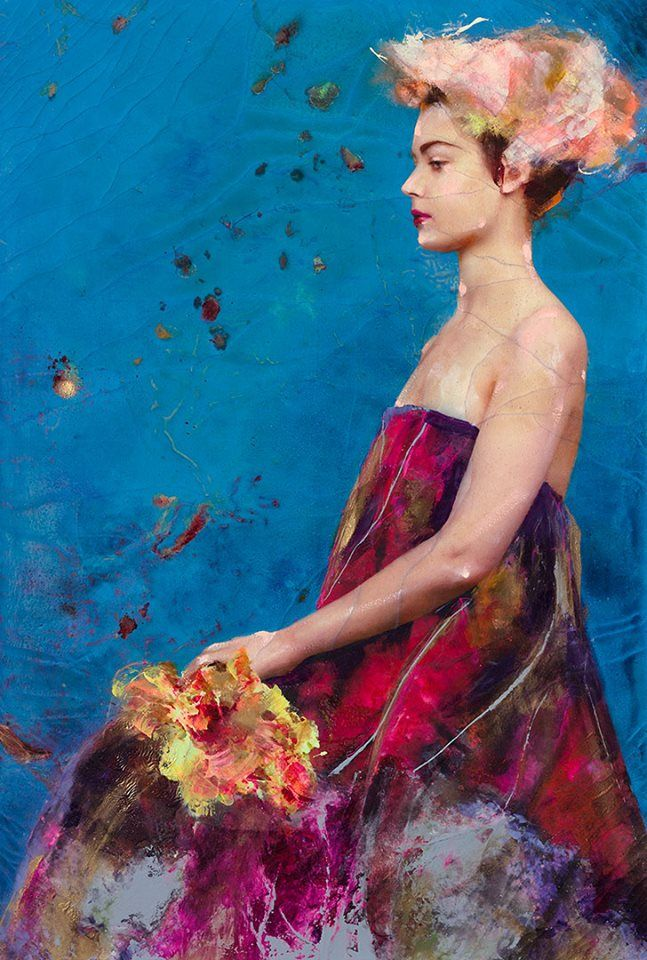 Lita Cabellut - Contemporary Artist - Fairy Flowers