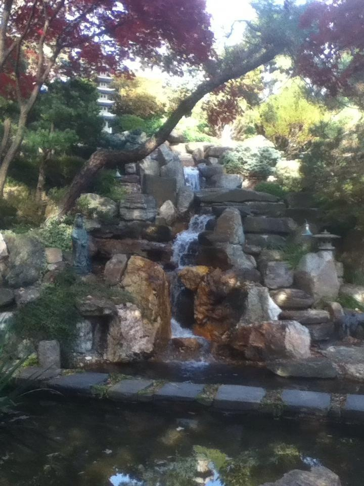 Japanese Garden At Hillwood Mansion And Gardens In DC