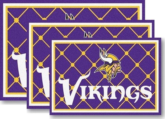 Minnesota Vikings Nfl Area Rugs