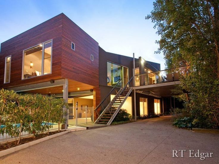 Best Modern House Design With Balcony Images On Pinterest