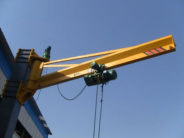 It Is Made Of Support Column Jib Device And Electric