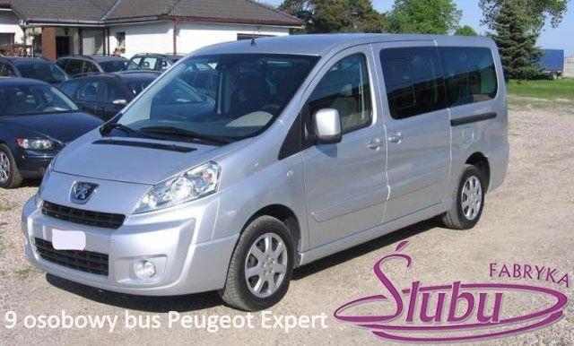 Wynajem busa do transportu gości weselnych