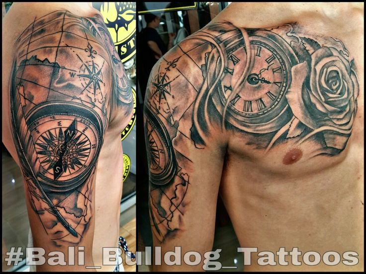 #Compas_Tattoo #Watch_Tattoo #Roses_Tattoo #Bali_Bulldog_Tattoos #Bali_Tattoo #Bali_Bulldog_Tattoo