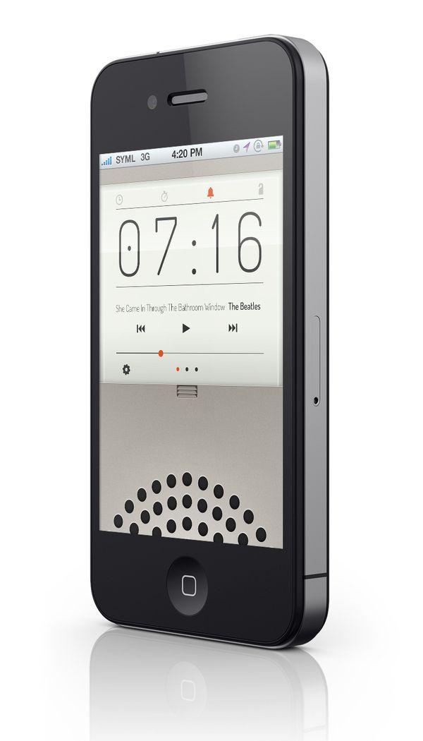LARWM IOS Application by Ryan Jones, via BehanceIphone 5S, Design Inspiration, Iphone App, Web Design, Alarm Clocks, App Ui, User Interface Design, Iphone User, App Design