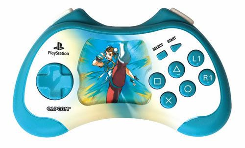 Street Fighter Chun Li 15th Anniversary Controller - Controller PS2
