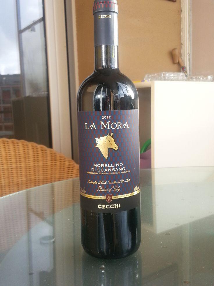#La Mora, morellino di scansano, 2012