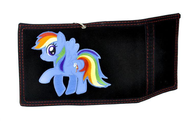 My Little Pony Rainbow Dash Tri-fold Wallet with Chain Alternative Clothing