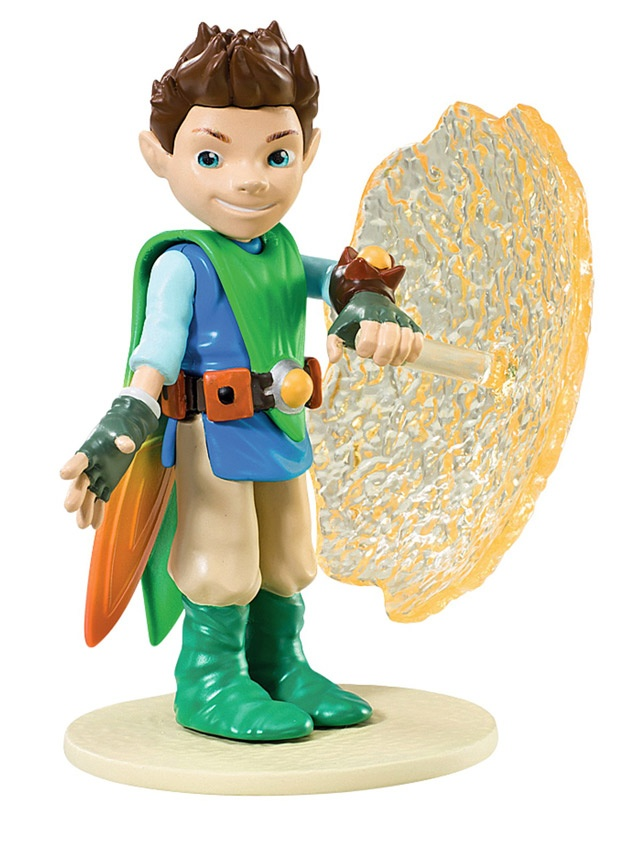 Tree Fu Tom - Tom with Shield Articulated Figure