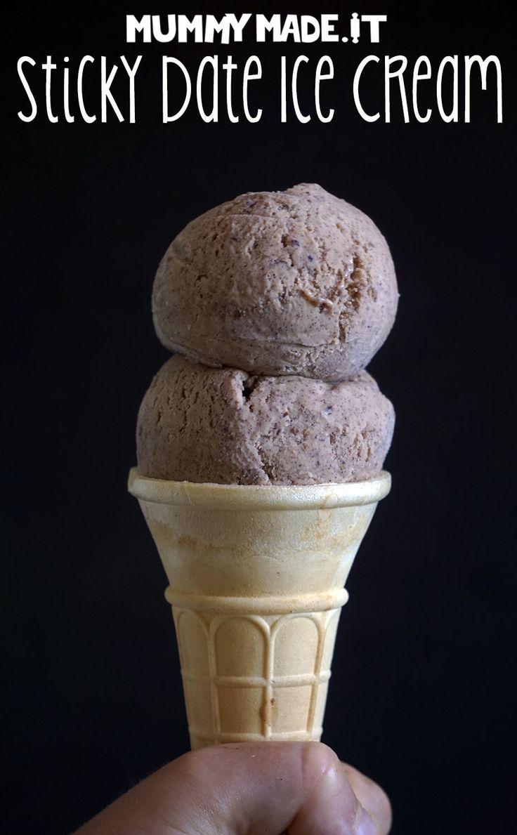 Sticky Date Ice Cream