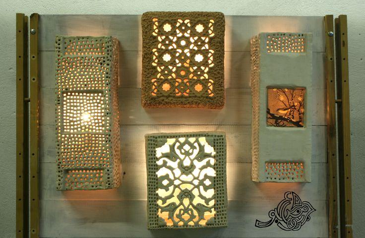 #ceramics #lamp #wall lamp