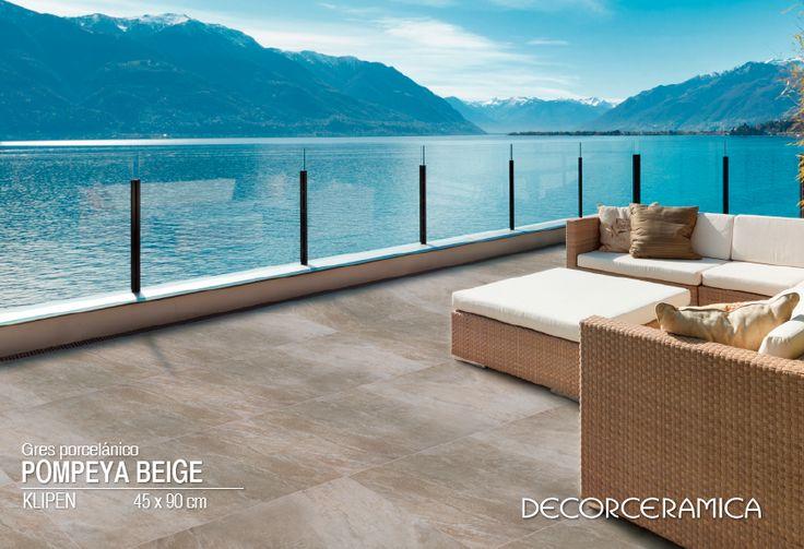 Esta combinación de piso y muebles se verá muy bien en tu antejardín o terraza. Conócela...