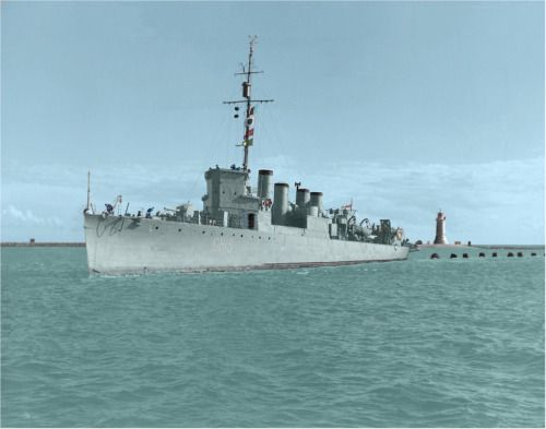 HMS Leamington