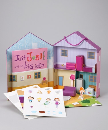 Take a look at this Make Your Own Dollhouse Paperback & Kit by ...