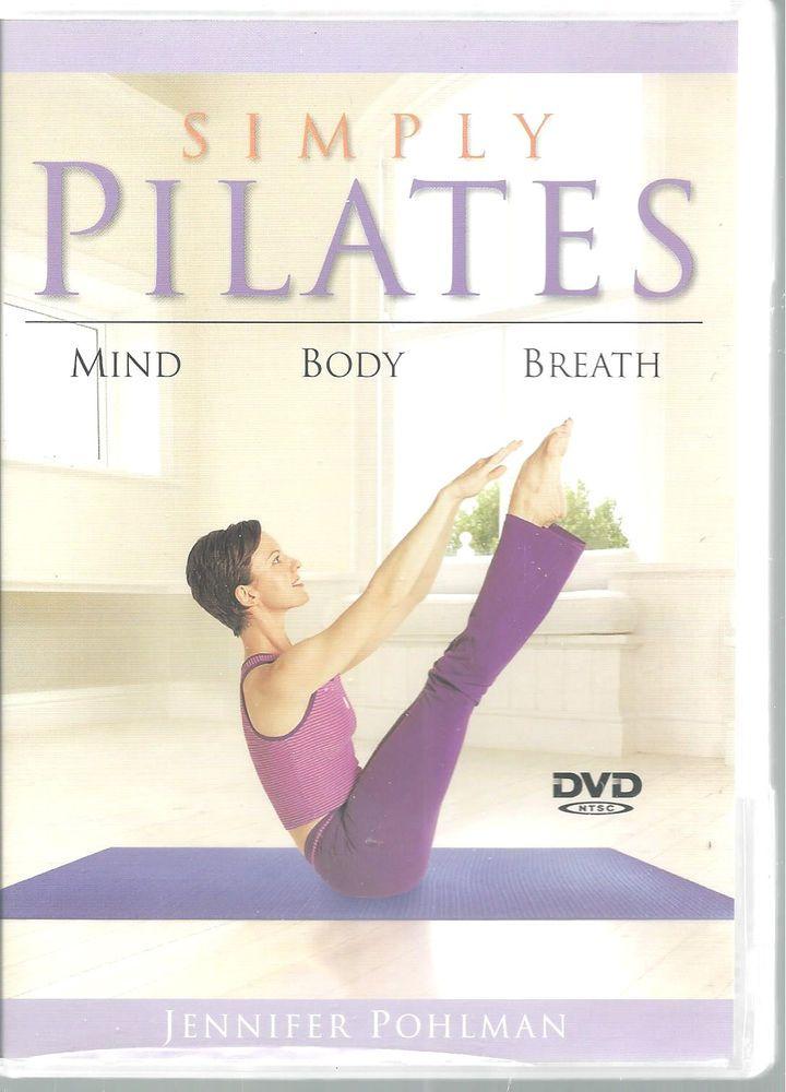 Simply Pilates Jennifer Pohlman Exercises Health DVD 2006