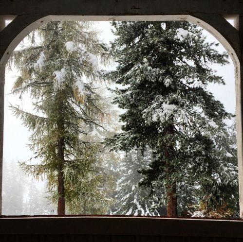 Marion Cotillard station ski Davos
