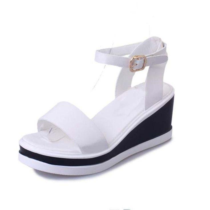 >> Click to Buy << 202017 New Women's Summer Sandals Shoes Peep-toe Low Shoes Roman Sandals Fashion Ladies Flip Flops Casual Female Hot Sale #Affiliate