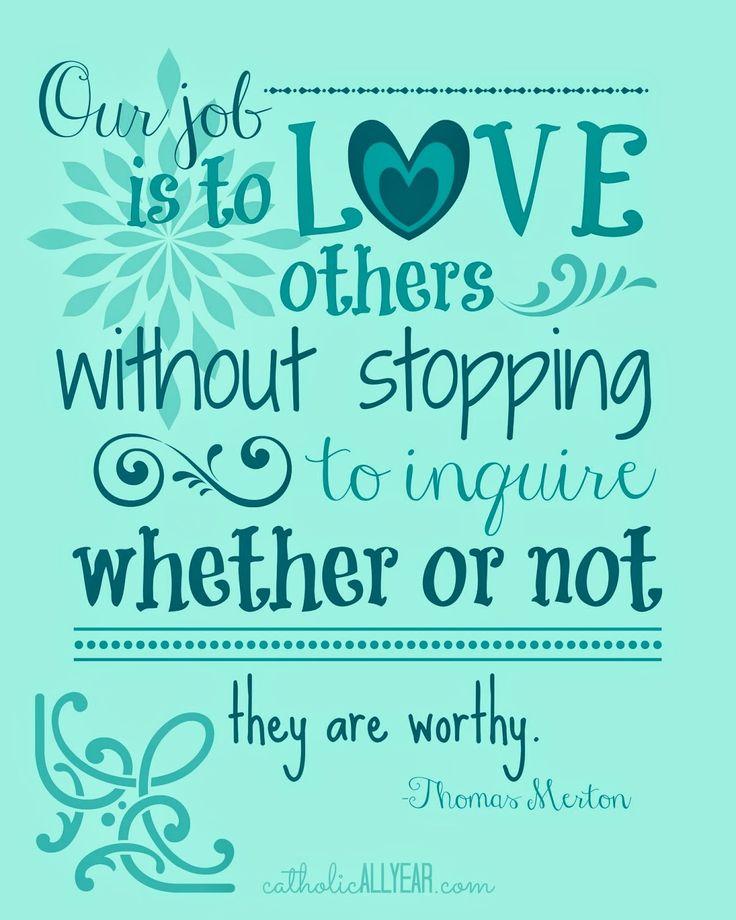 Catholic Quotes On Love: Best 25+ Thomas Merton Quotes Ideas On Pinterest