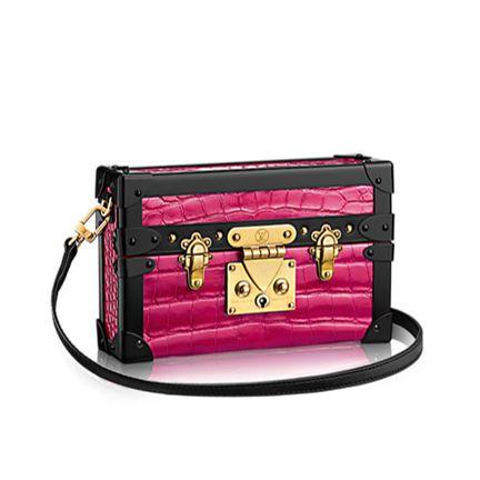 Louis Vuitton petite malle pink www.bagvibes.com