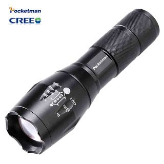 High Bright E17 3800 Lumens CREE XM-L T6 LED Flashlight 5-Mode Zoomable linternas LED Torch by 118650 or 3AAA Free shipping (32618289783)  SEE MORE  #SuperDeals