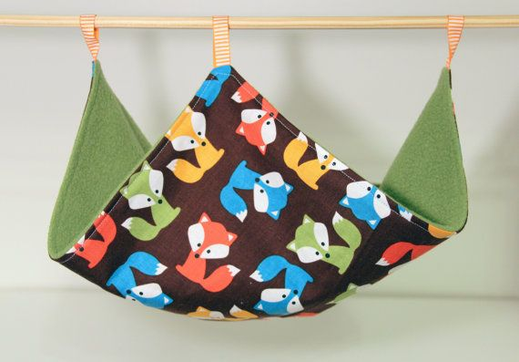 Hanging Rat Hammock Chinchilla Canopy Perfect for by SewingInCZ