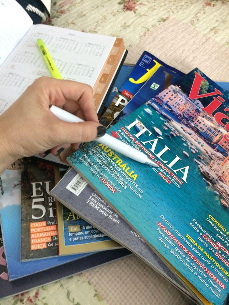 Estudando novo roteiro... A Bela Itália