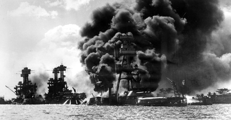 The Terror of World War Two in the USA after Pearl Harbor