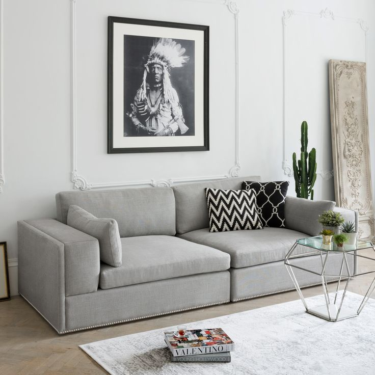 large loungey and ideal for snuggling up to watch a movie or read a good book the frederick sofa is a beautiful piece with deep sumptuous cushions and