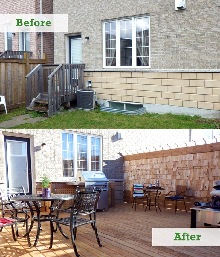 Ask a pro q a townhouse backyard makeover better homes for Better homes and gardens fence ideas