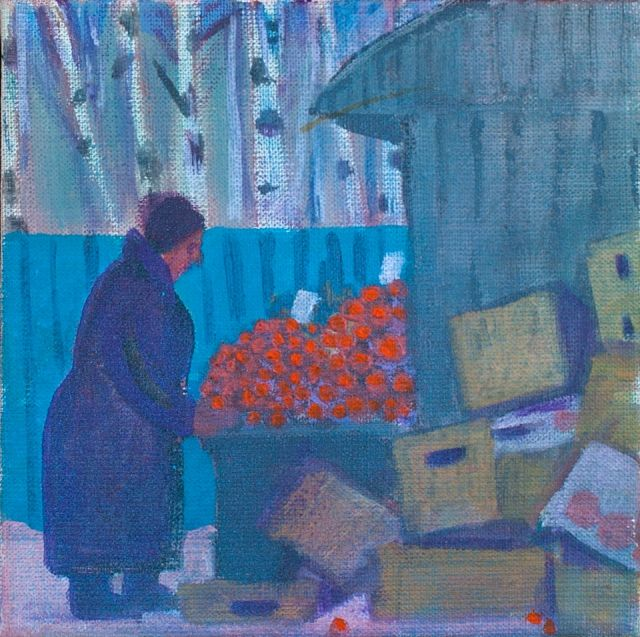 Nadezhda Everling, On Udelnaya, 2007 year #painting #contemporaryart #Everling #artltd