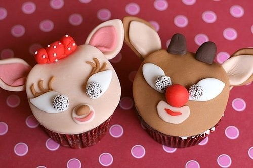 List of Christmas Cupcake Ideas