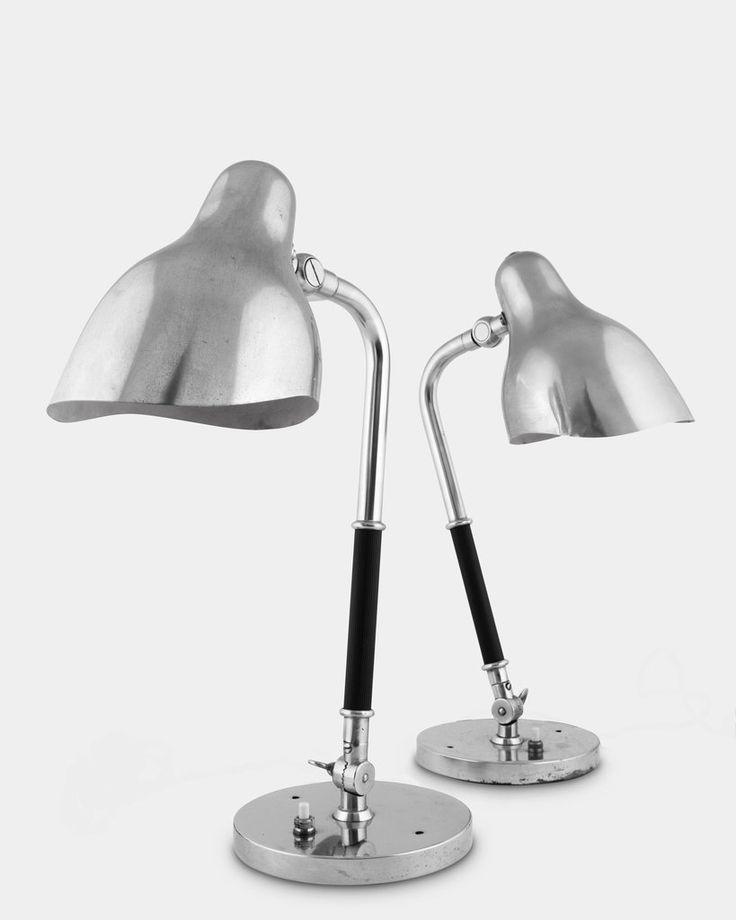 A Pair of Table Lamps by Vilhelm Lauritzen