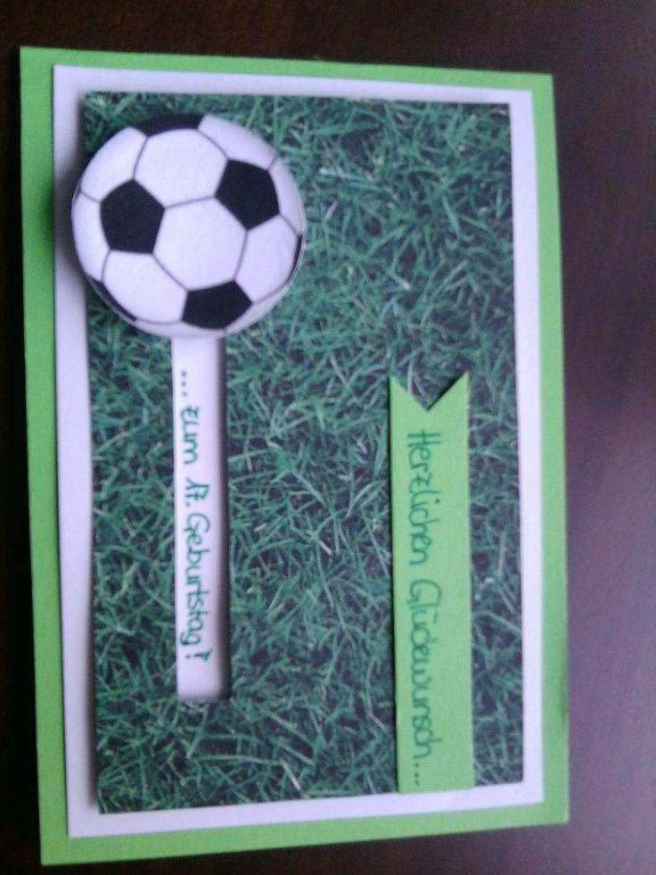 Kullerkarte für Fußballfans
