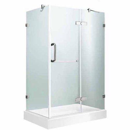 Shop VIGO Frameless Showers Chrome Walls Not Included Square Corner Shower  Kit  Actual416 best Home   Bath images on Pinterest   Room  Bathroom ideas  . 32 Inch Corner Shower. Home Design Ideas
