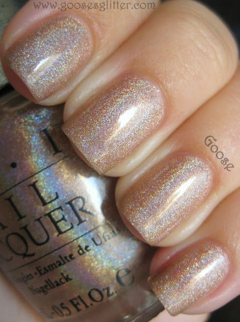 ❤️ OPI Goose's Glitter - love in the photo but unsure if it will be too glittery in person! This color looks gorgeous as pictured here!