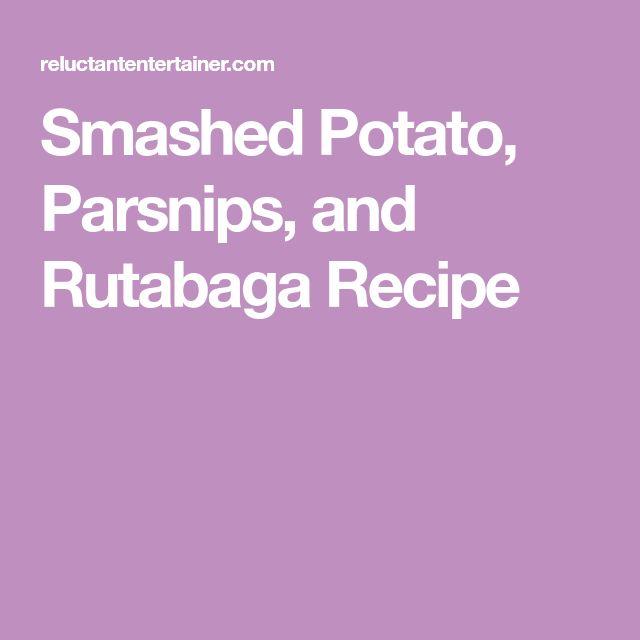 how to cook rutabaga mashed
