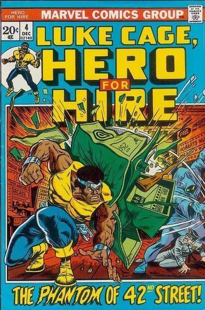 LUKE CAGE, HERO FOR HIRE 4, BRONZE AGE MARVEL COMICS