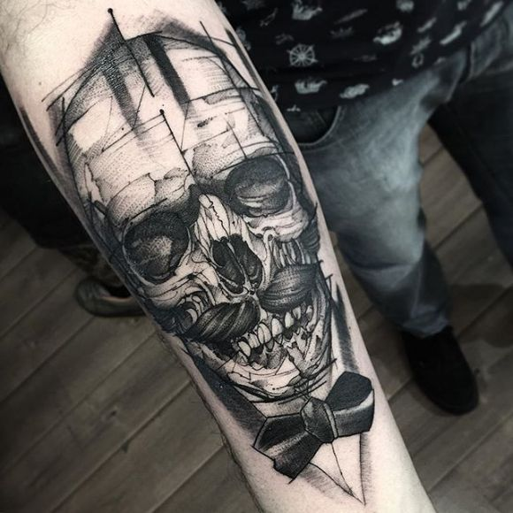 Skull Tattoo de Messieurs
