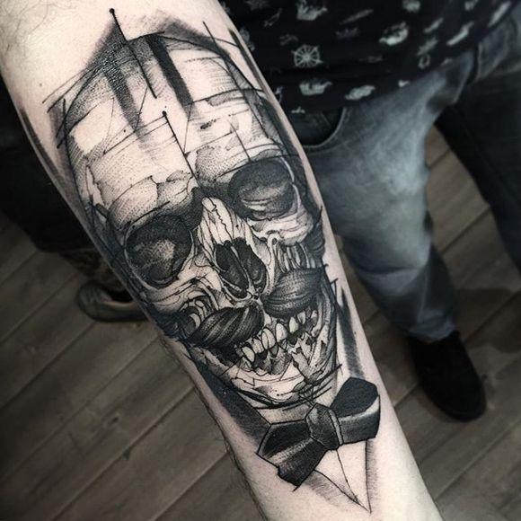 Skull Tattoo de Messieurs