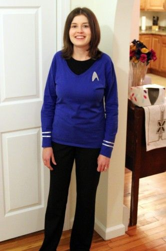 DIY Star Trek costume for Halloween