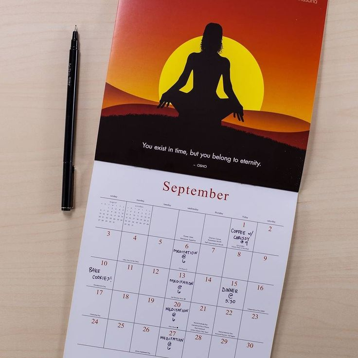 All Calendars are currently 50% Off! Limited Quantities available!  #brushdance #mindfulliving #yogasilhouettes #yoga #meditation #oshoquotes #osho #eternity #time #peace #balance #love #unity #health #healthyliving #healthylifestyle #strength
