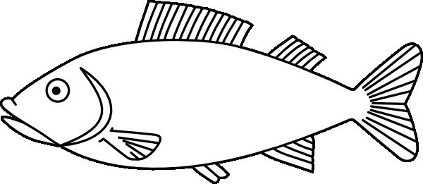 fish coloring pages Seaside Pinterest Fish coloring