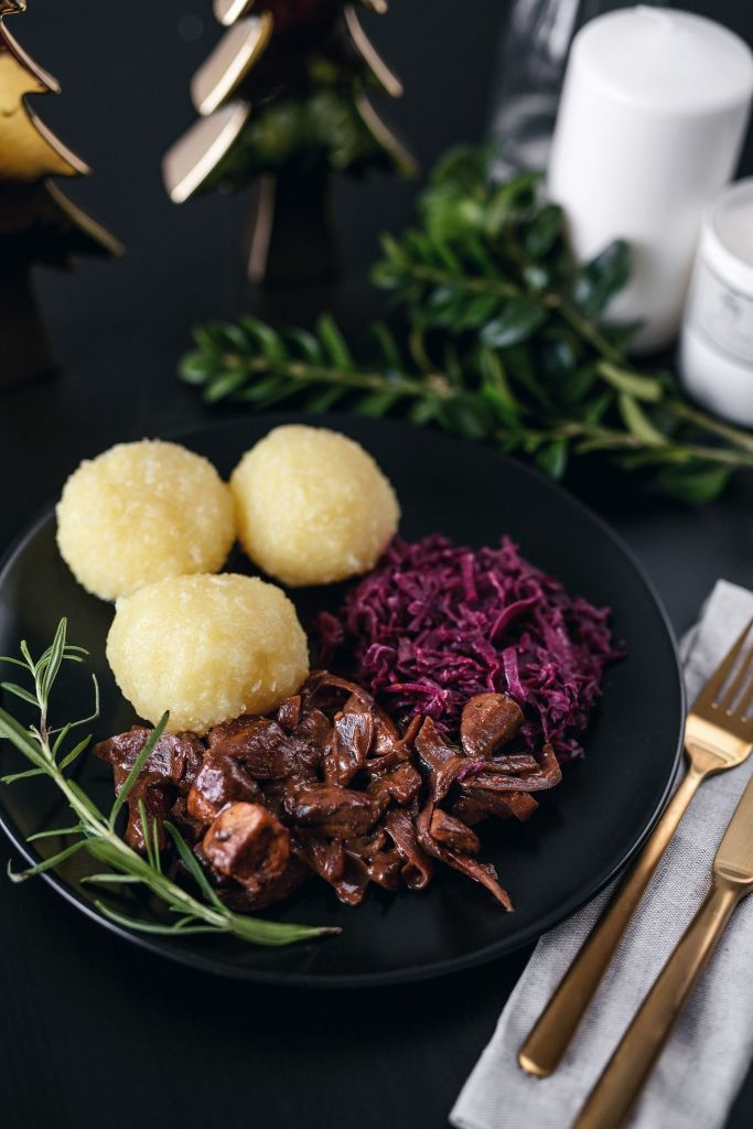 Mein veganes 3-Gänge Weihnachtsmenü - ValerieHusemannde