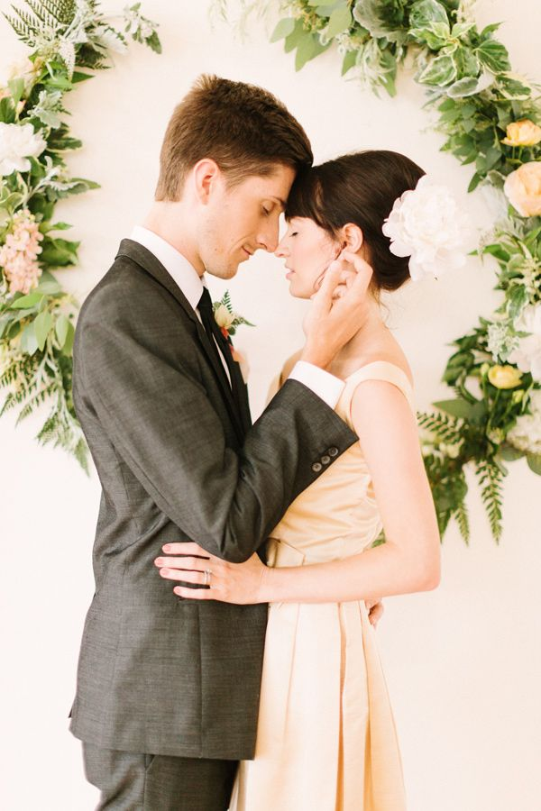 Romantic Wedding Photo By The Photography Of Haley Sheffield Styling Juli Vaughn Designs