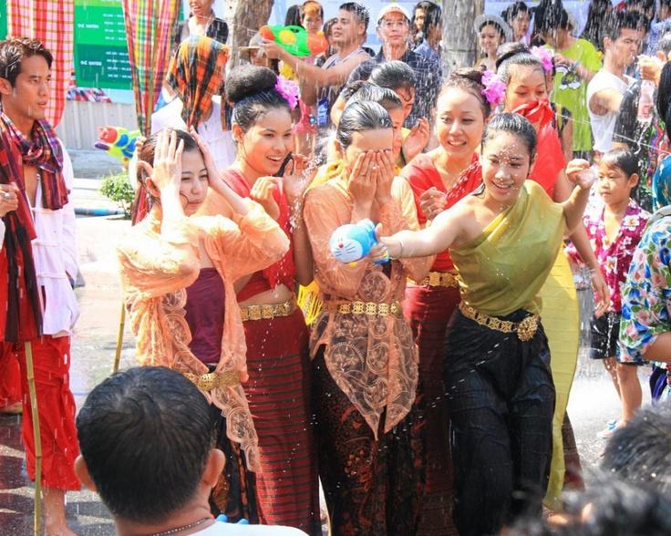 Songkran , Thailand