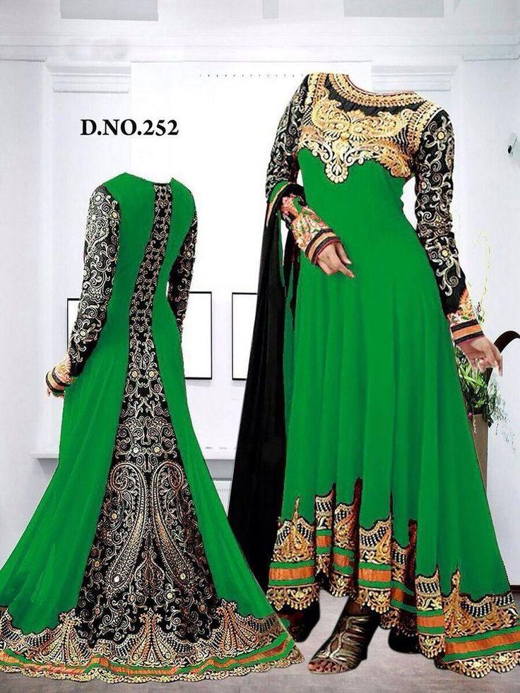 Anarkali Salwar Kameez Designer Bridal Indian Dress Bollywood ethnic party 142 #Unbranded #SalwarKameez