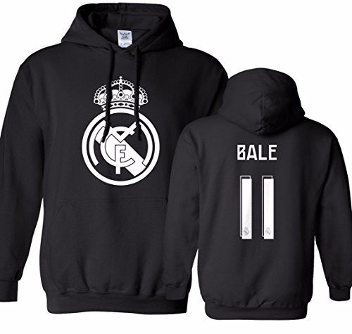 Tcamp Real Madrid Shirt Gareth Bale  11 Jersey Men s Hood... https ... ec532a5bc