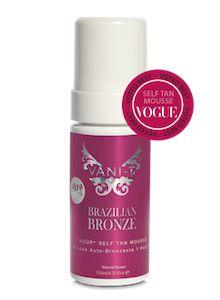Vani-T Brazilian Bronze 1-Hour Self Tan Mousse
